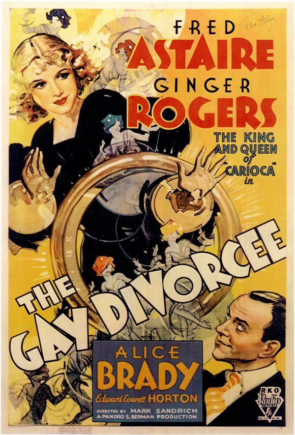 gaydivorceeposter 1934: The Year Oscar Scored