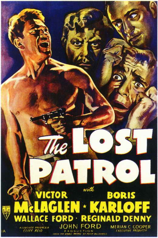 lostpatrolposter 1934: The Year Oscar Scored